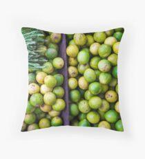 Yangon Limes Throw Pillow