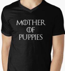 Mother of Puppies Men's V-Neck T-Shirt