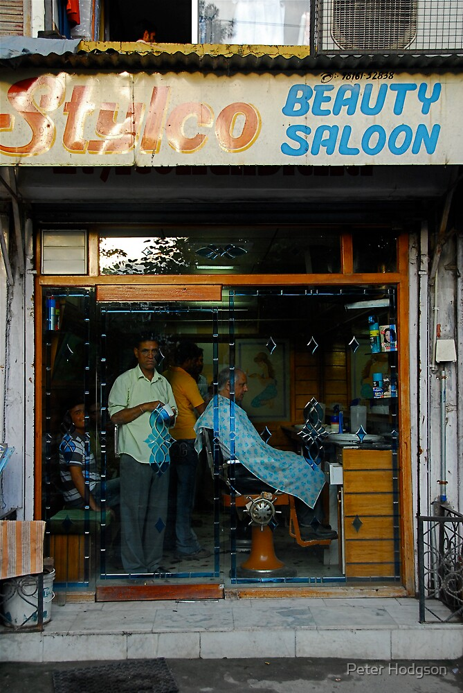 Indian Beauty salon by Peter Hodgson