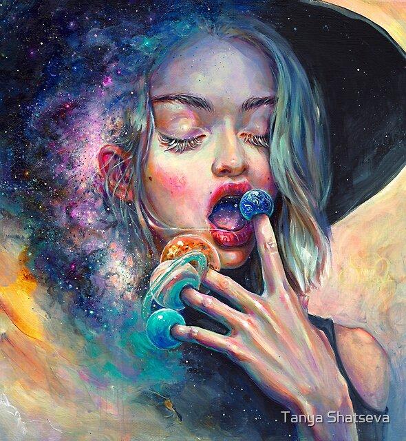 Black Hole in the Milky Way by tanyashatseva