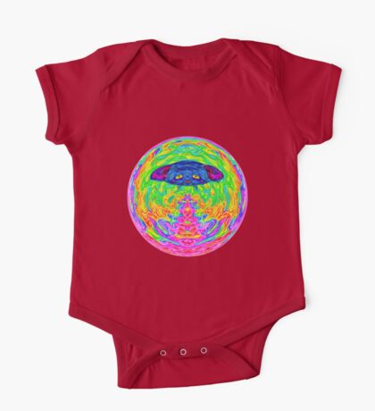 Unidentified Flying CatBat Kids Clothes