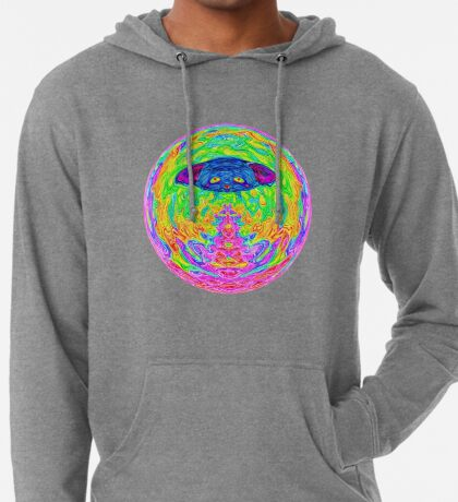 Unidentified Flying CatBat Lightweight Hoodie