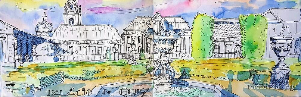 Palácio de Queluz. Garden.  by terezadelpilar ~ art & architecture
