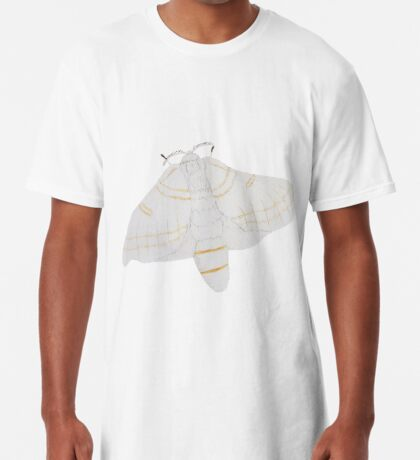 Silk moth from above Long T-Shirt