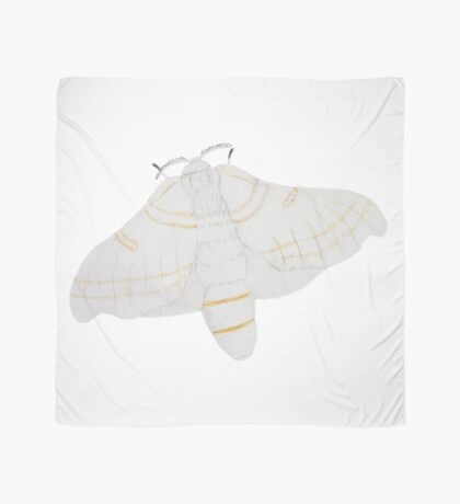 Silk moth from above Scarf