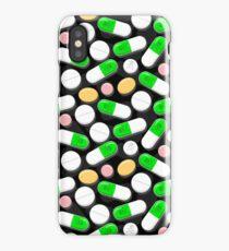 Deadly Pills Pattern iPhone Case/Skin