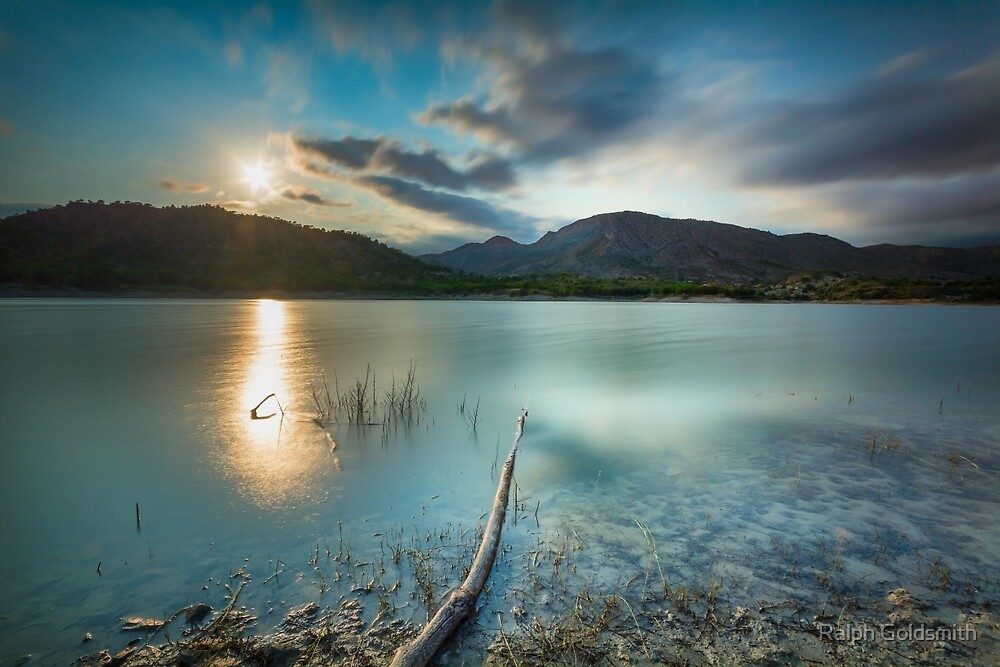 Sunset long exposure at Amadorio by Ralph Goldsmith