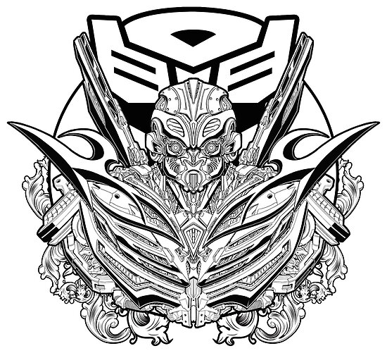 """Transformers coloring pages bumblebee face paintings ~ """"Bumblebee - Transformers The Last Knight"""" Poster by ..."""