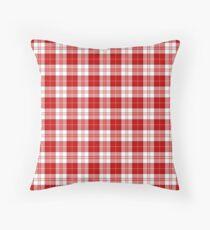 Menzies Clan Scottish Tartan Plaid Pattern Throw Pillow