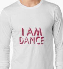 I Am Dance Stencil Art T Shirt T-Shirt