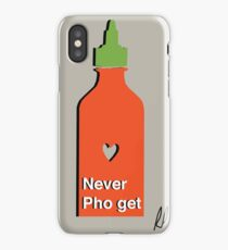 Never PhoGet iPhone Case