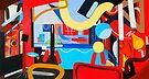 Abstract Interior #9 by Lisa V Robinson