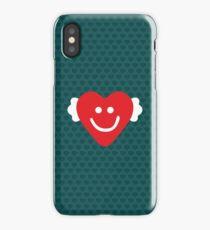 Cute Candy Heart - emerald iPhone Case/Skin
