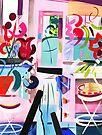 Pink Interior by Lisa V Robinson