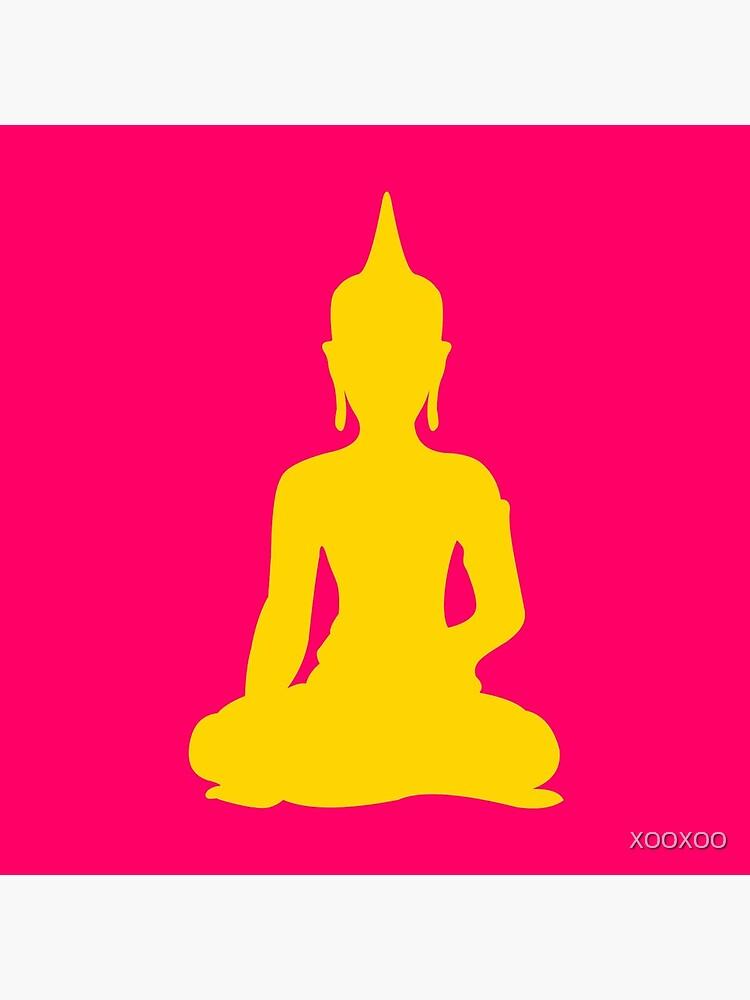 Neon Buddha by XOOXOO