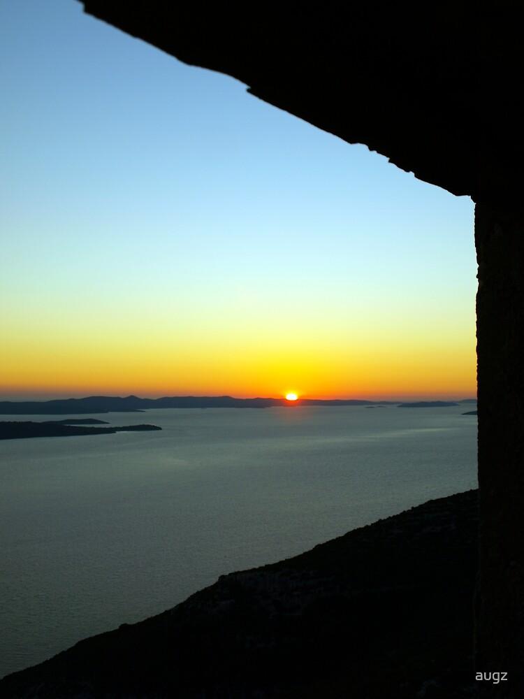Sunset Window by augz