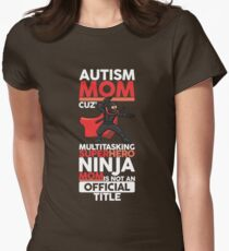 Autism Mom Design For Mothers Of Autistic Children Awareness T-Shirt