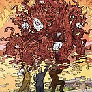 The Dunwich Horror - Art by Andrey Fetisov by Chaosium
