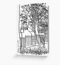 Surry Hills Streetscape Greeting Card
