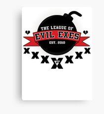 The League of Evil Exes Canvas Print