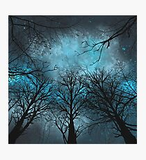 The Night Of The Storm Photographic Print