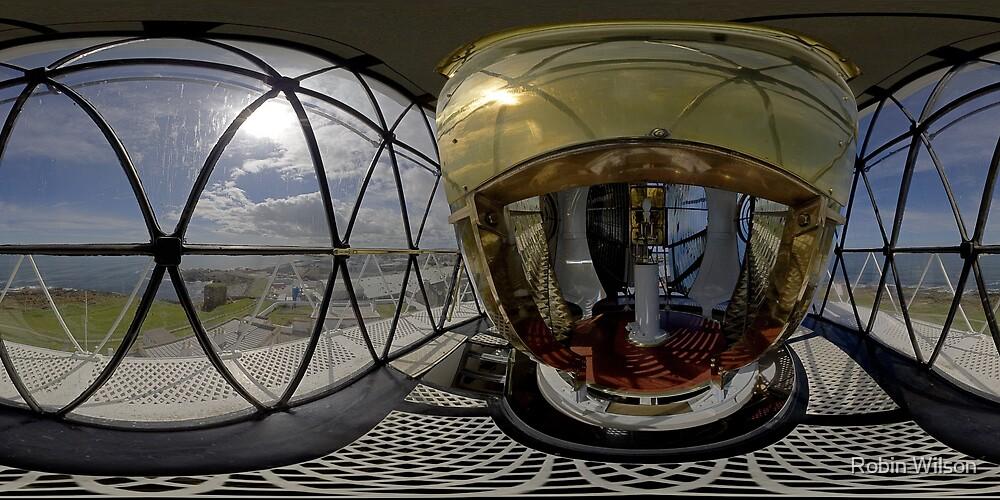 Kinnaird Head Lighthouse by Robin Wilson