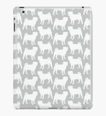 Silver Pug iPad Case/Skin