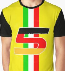 sebastian vettel 5 yellow Graphic T-Shirt