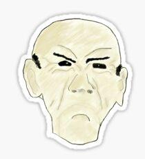 Walter - Jeff Dunham Sticker