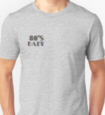 80's baby - blue  T-Shirt