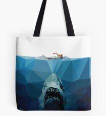 Polygon Jaws Tote Bag