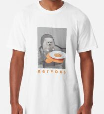 Nervöses Abendessen mit White Dog Longshirt