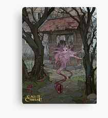 The Fungi from Yuggoth - Art by Andrey Fetisov Canvas Print
