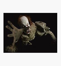 IT PENNYWISE 2017 MOVIE Photographic Print