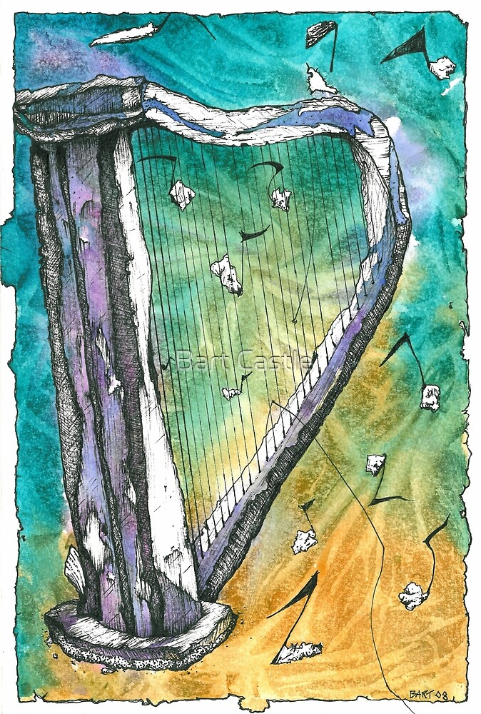 Harp Notes by Bart Castle