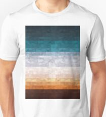 Abstract landscape watercolor T-Shirt