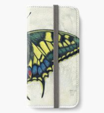 Swallowtail butterfly iPhone Wallet/Case/Skin