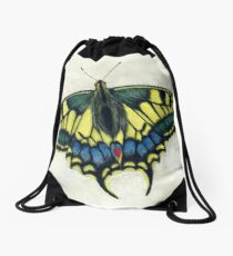 Swallowtail butterfly Drawstring Bag