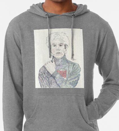 Andy Warhol pop art soup artist pointillism Lightweight Hoodie