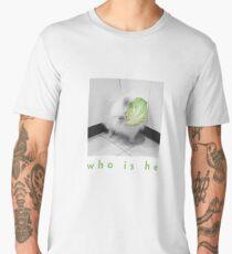 White Dog as Lettuce Spirit Men's Premium T-Shirt