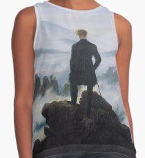 Wanderer above the Sea of Fog by Caspar David Friedrich Contrast Tank