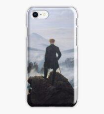 Wanderer above the Sea of Fog by Caspar David Friedrich iPhone Case/Skin