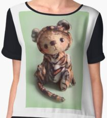 Teddy Bear Tiger 'Tigger' from Teddy Bear Orphans Women's Chiffon Top