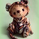 Teddy Bear Tiger 'Tigger' from Teddy Bear Orphans by Penny Bonser