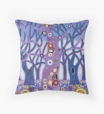 Zebedee Tree Throw Pillow