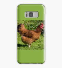 brown Rhode Island Red hen Samsung Galaxy Case/Skin