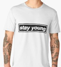 Stay Young - OASIS Men's Premium T-Shirt