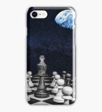 Fantasy Chess Galaxy & Earth iPhone Case/Skin