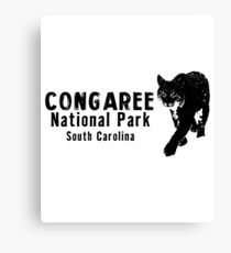 Congaree National Park Travel South Carolina State Park United States Canvas Print