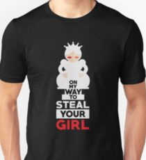 Funny Chess Design On My Way To Steal Your Girl Nerds Geeks T-Shirt